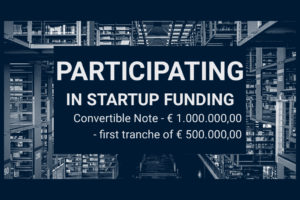 Participating in Startup Funding