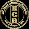 Ecb logo transparant gold