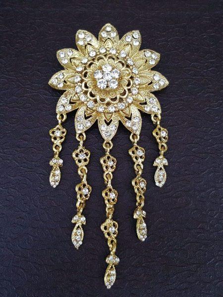 Flower shaped Brooch 2