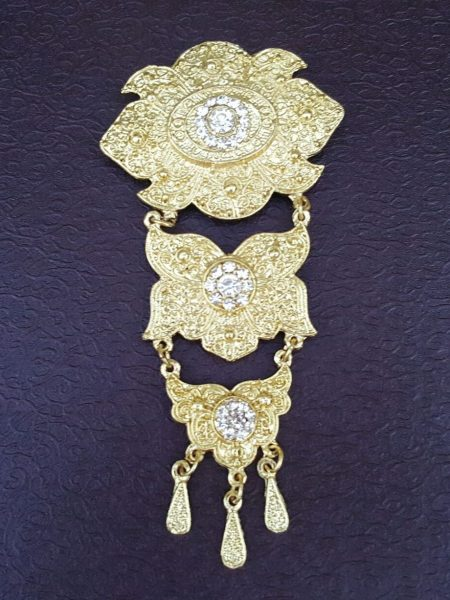 3-layer Stacked BROOCH 2